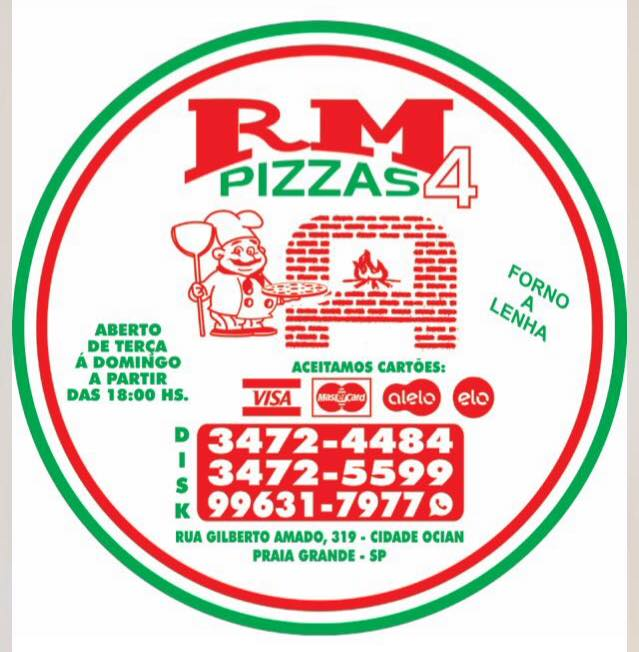 RM 4 Pizzas